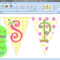 making a banner in word