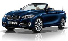 #BMW #2erCabrio. Dynamischen Linien und sportlichen Proportionen.