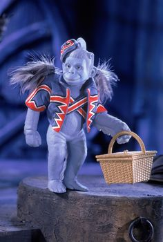 The Wizard of Oz™ Winged Monkey Porcelain #5   Barbie Collector