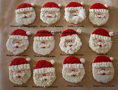 Which santa beard is your favorite? by Andovercookiemama, via Flickr