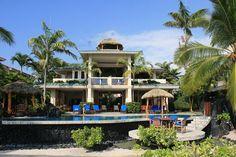 Private Homes, Kona Bay Estates Vacation Rental - VRBO 4972 - 4 BR Kailua-Kona House in HI, Kona Bay Hawaii Beachfront Tropical Paradise Stu...