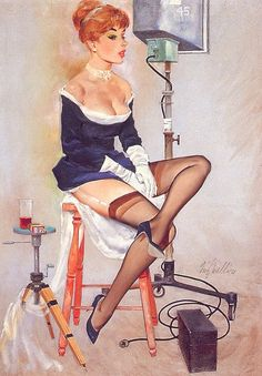 Pin-up by Fritz Willis