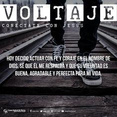 Decido actuar con fe y coraje en Dios. http://devocional.casaroca.org/jv/01sep…