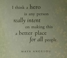 #Refugees are our heroes. #quote