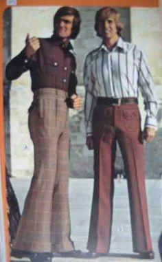 Men's Fashion 1970's