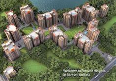 Fortune Heights is an affordable housing project in Barasat, Kolkata - launched by Fortune Realty. Book Fortune Heights 2BHK 3BHK 4BHK residential apartments in 818 - 1998 Sq.ft sizes at starting price 18 Lac with modern amenities.