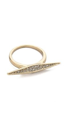 sparkling marquis ring / house of harlow... take 25% off your purchase at shopbop