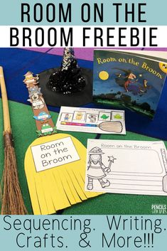Room on the Broom Sequencing Freebie for Halloween - Pencils to PigtailsYou can find Sequencing activities and more on our web. Halloween Books, Halloween Activities, Autumn Activities, Halloween Themes, Halloween Pallet, Preschool Halloween, Halloween Projects, Sequencing Activities, Reading Activities