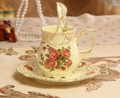 Floral Coffee Cup (3 pcs)