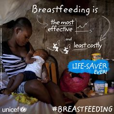 #Breastfeeding is the most effective and least costly lifesaver ever - www.unicef.org/mozambique/media_13103.html