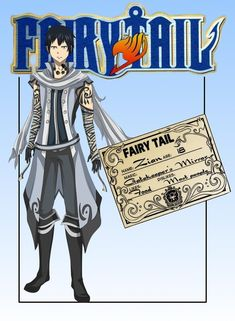Fairy Tail OC: Zian Nightlash (NEW UPDATES) by Kalina1176.deviantart.com on @DeviantArt