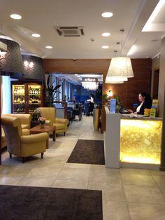 Hotel Astor Riga lobby