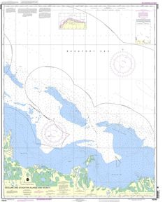 NOAA Nautical Chart 16046: McClure and Stockton Islands and vicinity