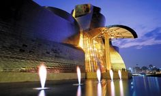 Bilbao Hotel Miro & room with Guggenheim view