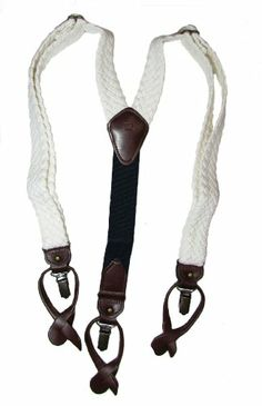 #TommyHilfiger Men's Cotton Braid #Suspenders, White, One Size Tommy Hilfiger http://www.amazon.com/dp/B00CPXOV4Q/ref=cm_sw_r_pi_dp_GzALtb0WKXSXCSDJ