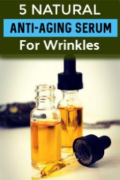 5 Natural Anti-Aging Serum For Wrinkles  #wrinkles #antiaging #skincare #beautifulskin #skincaretips #BeautyHacksLips Anti Aging Tips, Anti Aging Serum, Best Anti Aging, Anti Aging Skin Care, Natural Skin Care, Home Remedies For Wrinkles, Skin Care Routine For 20s, Skincare Routine, Anti Aging Treatments