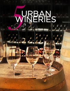 LUX Travel: 5 Urban Wineries featuring The Infinite Monkey Theorem