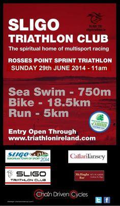 Sligo Triathlon Club Sprint Triathlon, Irish, Events, Happenings, Irish Language, Ireland