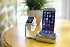 Duet - Charging, Simplified. (iPhone and Apple Watch Dock) by Matthew and Mark McLachlan — Kickstarter