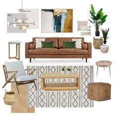 Home Living Room, Interior Design Living Room, Home Republic, Interior Design Boards, Flower Mound, Tattoo Studio, Glamping, Mood Boards, Home Goods
