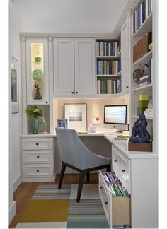 Decorative home office idea-Home and Garden Design Ideas