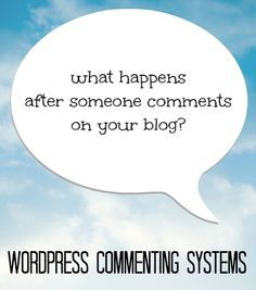 WordPress Commenting Systems Decoded