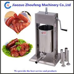 96.90$  Buy now - Hand operated sausage meat stuffer homemade sausages filling machine manual salami maker  #aliexpresschina