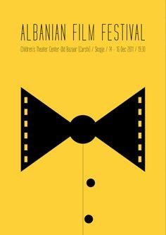 Albanian Film Festival 2011 (Poster) by Tabi Aziri, via Behance
