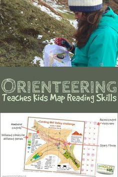 Orienteering is a fun family activity - and it helps teach your kids map reading skills.