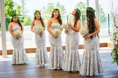 Samoan Bridesmaid Dress