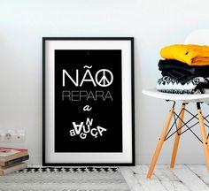 Poster Não Repara a Bagunça