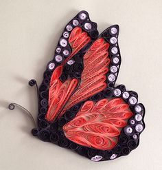 Quilled Monarch Butterfly