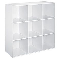 $59.99 Kmart 9 Cube Storage. Perfect for my DIY office Desk. Would need 2 of them.