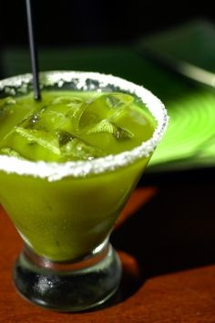 Yum Alert: Green Tea Margarita