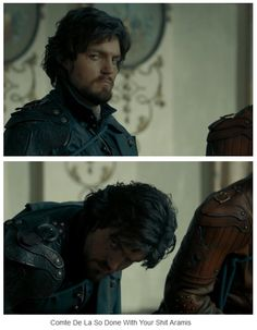 The Musketeers - 1x10 - Musketeers Don't Die Easily, Athos is most certainly NOT AMUSED