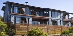 timber homes south africa Nutec Houses, Small Beach Houses, Beach House Plans, Timber House, Wooden Slats, Grand Designs, Cladding, Multi Story Building, House Design