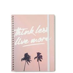 A5 Spinout notebook 120 pages ($4.99) ❤ liked on Polyvore featuring home, home decor, stationery and fillers