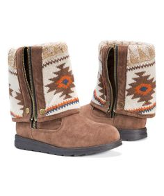 Look what I found on #zulily! Tan Demi Boot #zulilyfinds