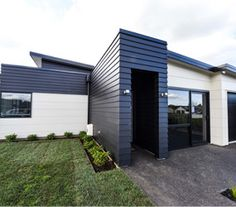 James Hardie Linea Stria creates a modern and exciting home exterior