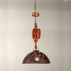 pulley light pendant vintage lighting andy thornton andy thornton lighting