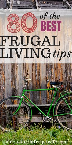 of the Best Frugal Living Tips Apply these tips and tricks to your life to live frugally and save money!Apply these tips and tricks to your life to live frugally and save money! Living On A Budget, Frugal Living Tips, Frugal Tips, Simple Living, Ways To Save Money, Money Tips, Money Saving Tips, Money Hacks, Money Savers