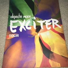 Depeche Mode Exciter Tour Programme | eBay