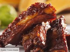 Ribs with tomato soup,soy sauce and spices cooked in slow cooker.Very delicious and easy.Use as a starter or main dish. Rib Sauce, Lemon Pudding Cake, Best Chinese Food, Ginger Peach, Spare Ribs, Bbq Ribs, 20 Min, Pinterest Recipes, Crockpot Recipes