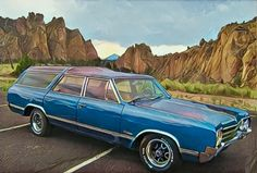 '65 Oldsmobile Vista Cruiser 4-Speed   Hemmings