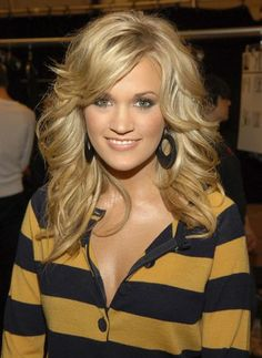 Love Carrie's hair style & color!!