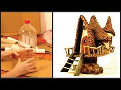 ❣DIY Fairy House Lamp Recycling TRASH❣ - YouTube