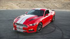 Shelby American takes the wraps off the 2015 Shelby GT at the Barrett-Jackson auctions in Scottsdale, Arizona, upgrading the Mustang to 627 horsepower.