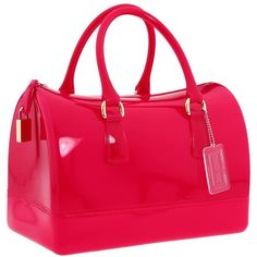 Furla Handbags Candy S Bauletto ($228) ❤ liked on Polyvore