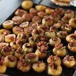 Pommes de terre primeurs farcies