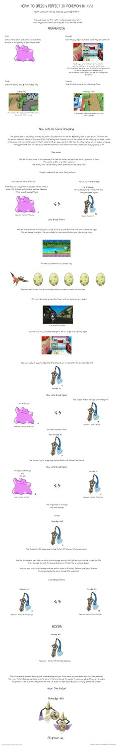 A Visual Guide to Breed Any 5 Perfect IV Pokemon! - Imgur